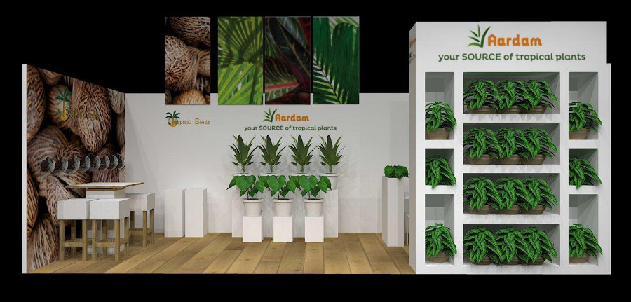 Tropical seeds stand IPM ESSEN 2015