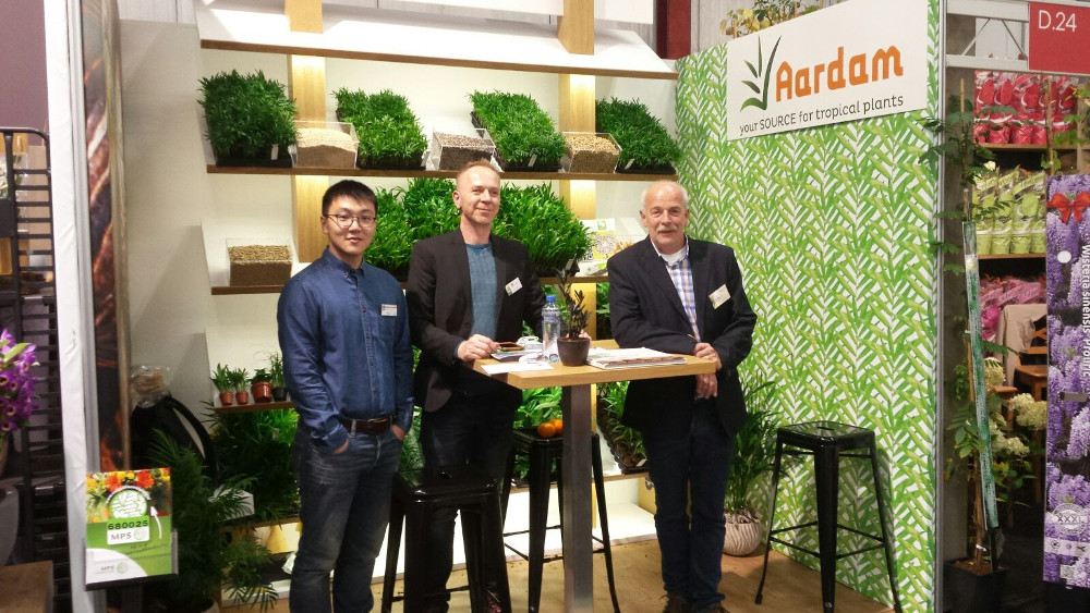 Tropicalseeds at Flora Holland Trade Fair 2017