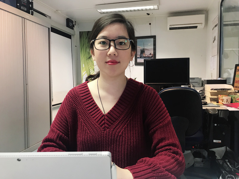 Self-introduction of internship student Xinmiao Du